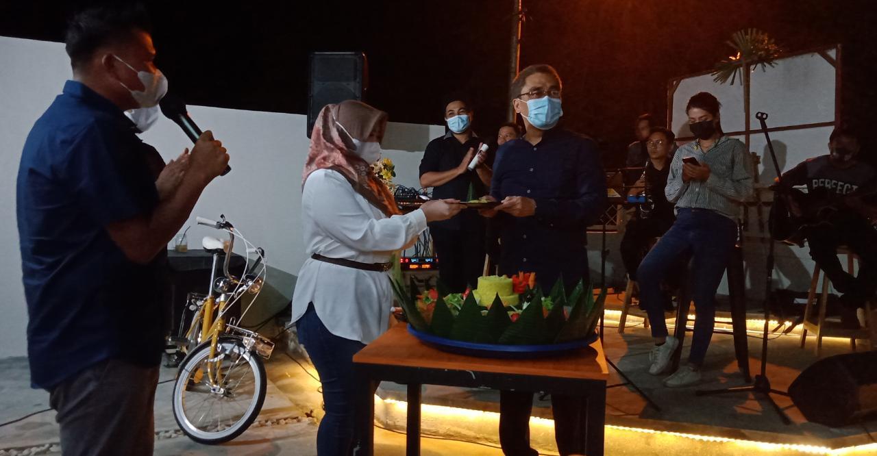 Grand Opening Semuka Cafe, Jaya Tekankan Prokes