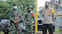 Kapolres Banjarbaru Berikan Bantuan untuk Warga Terpapar Covid-19