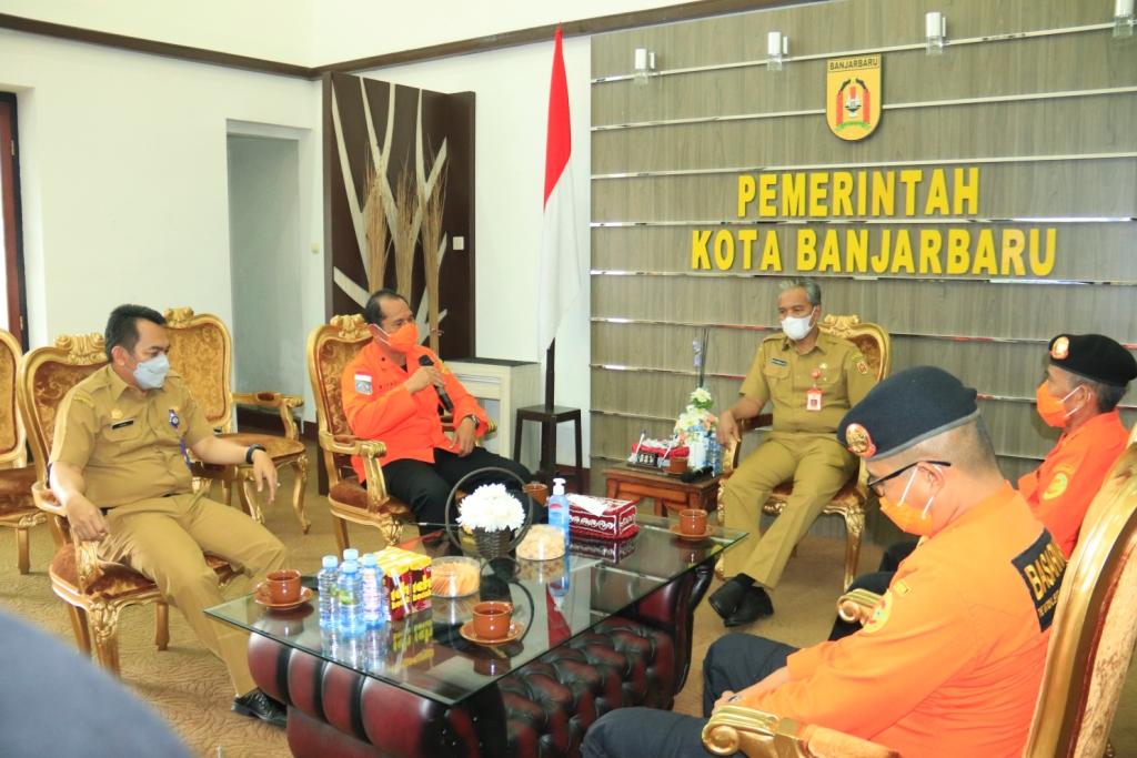 Basarnas Banjarmasin Siap Bantu Pemkot Banjarbaru Hadapi Bencana