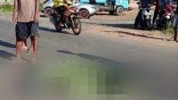 Laka Maut di Trikora, Satu Pengendara Motor Tewas Ditempat