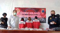 Polres Banjarbaru Gagalkan Peredaran Sabu Senilai Rp 3,8 Miliar