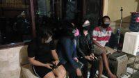 5 PSK Terjaring Razia di eks Lokasi Pembatuan Banjarbaru