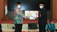 Banjarbaru Terima 5000 Rapit Test Antigen dari Pj Gubernur Kalsel