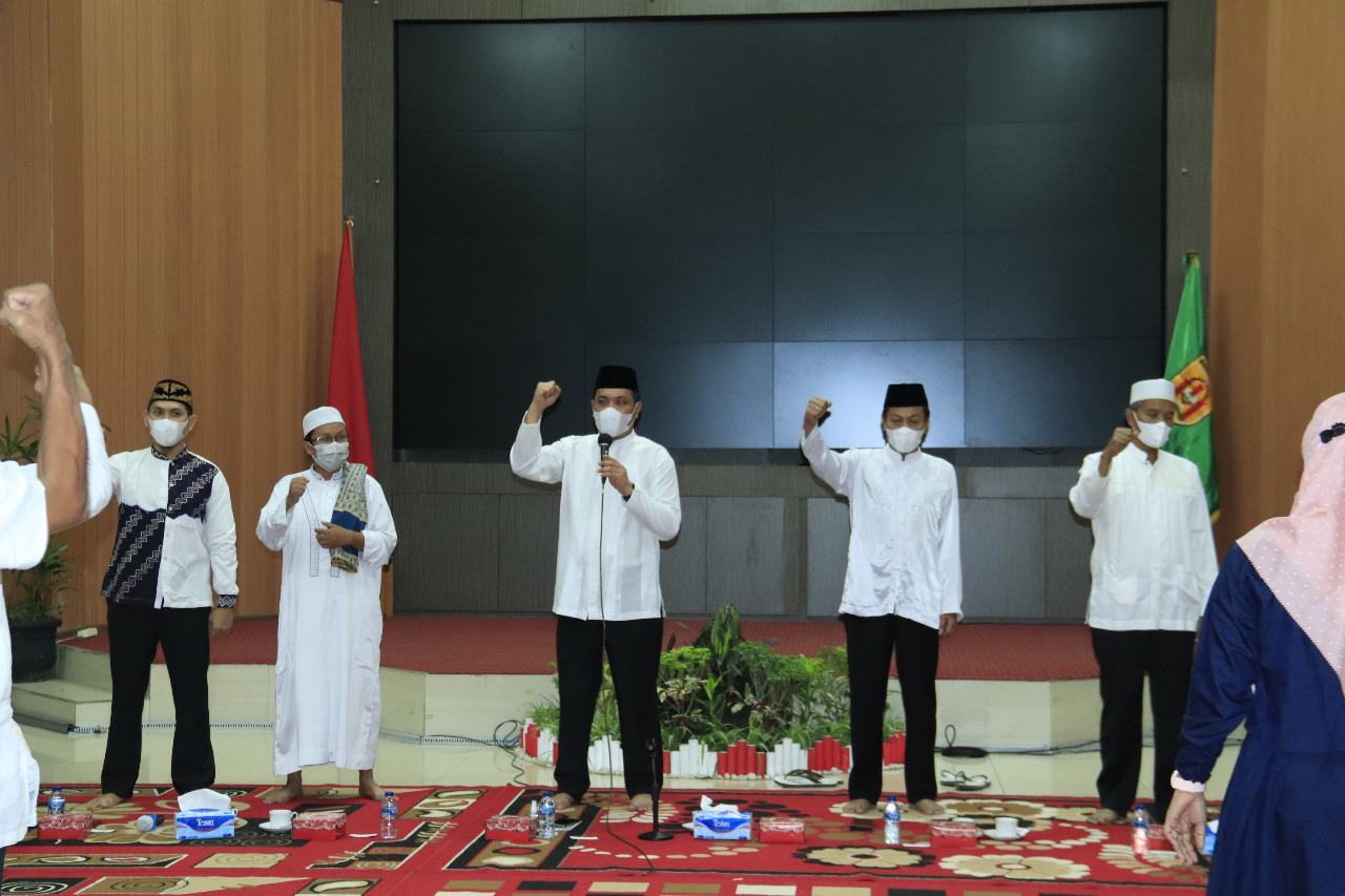 Bukber Walikota dan Wawali Banjarbaru dengan Lurah dan Camat Banjarbaru Selatan