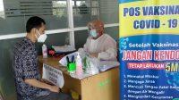 Vaksinasi PNS, PTT dan Tenaga Honorer Lingkup Setda Banjarbaru