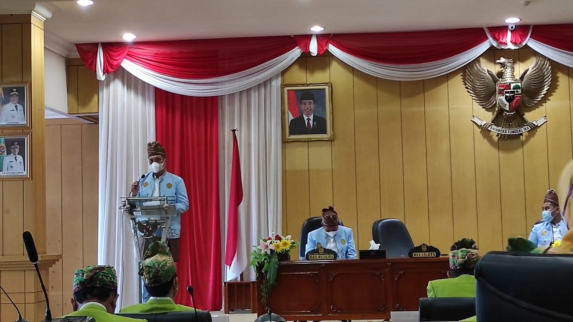 Rapat Paripurna Peringatan Harjad ke 22 Kota Banjarbaru