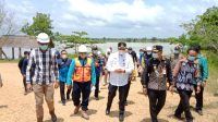 Walikota dan Wawali Banjarbaru Tinjau Lokasi Rencana Pembuatan Embung