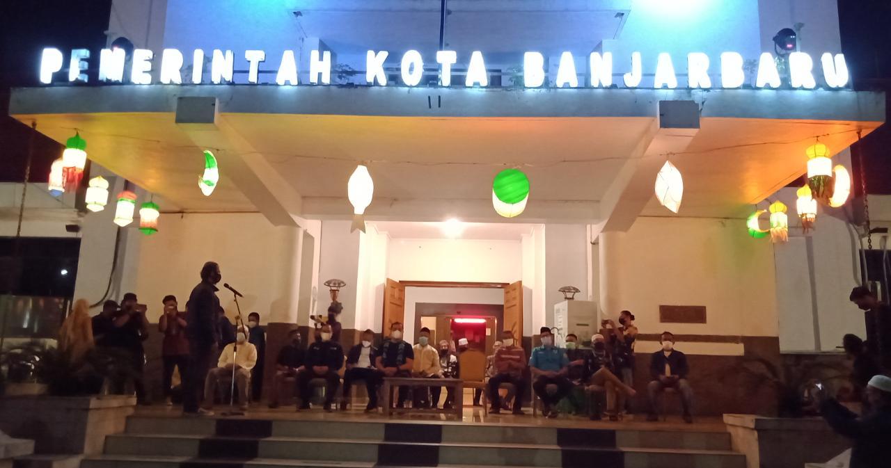 55 RT Ikut Memeriahkan Festival Salikur di Banjarbaru