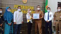 Bank Kalsel Berikan Paket Ramadan untuk Wartawan Banjarbaru