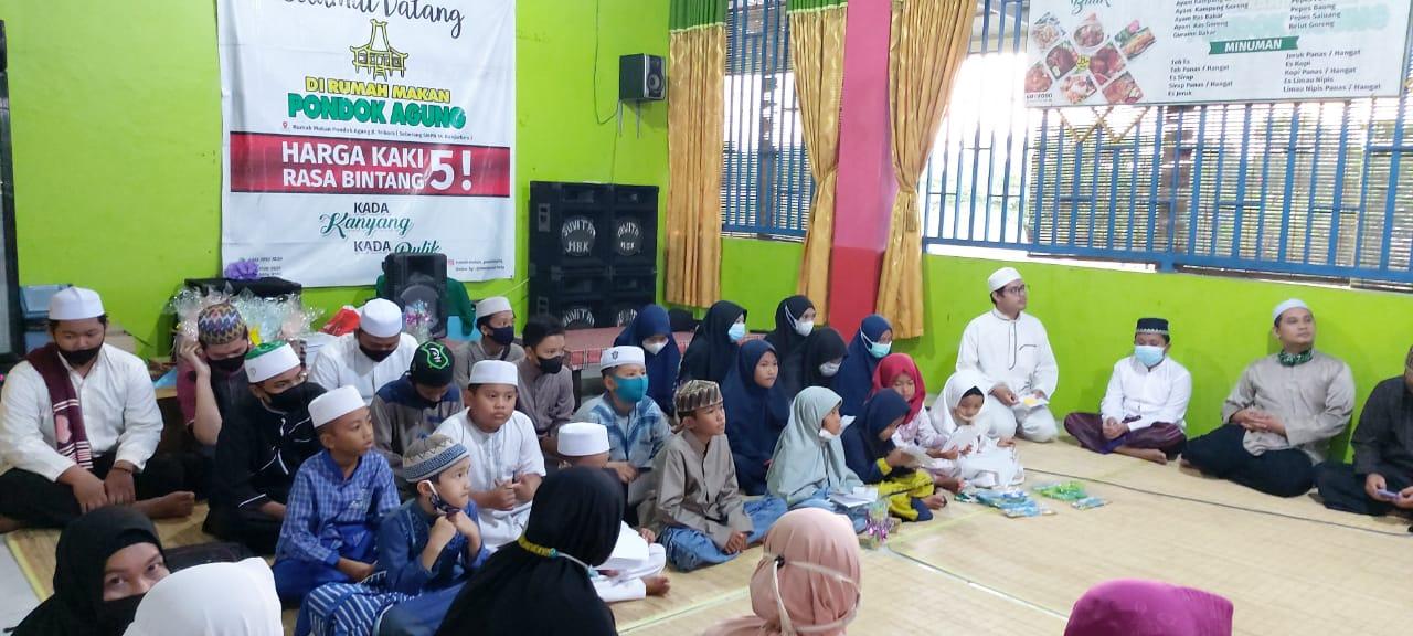 Bukber dan Santunan Anak Yatim Piatu RTQ se Kota Banjarbaru