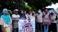 Jelang Berbuka, Ratusan Paket Takjil Dibagikan BAGUNA DPC Kota Banjarbaru