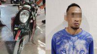 Ketinggalan Motor saat Mencuri, Trian Berhasil Diamankan Polsek Banjarbaru Barat