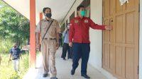 Ketua DPRD Kota Banjarbaru Fadliansyah Akbar tinjau kondisi di SMPN 15 Banjarbaru