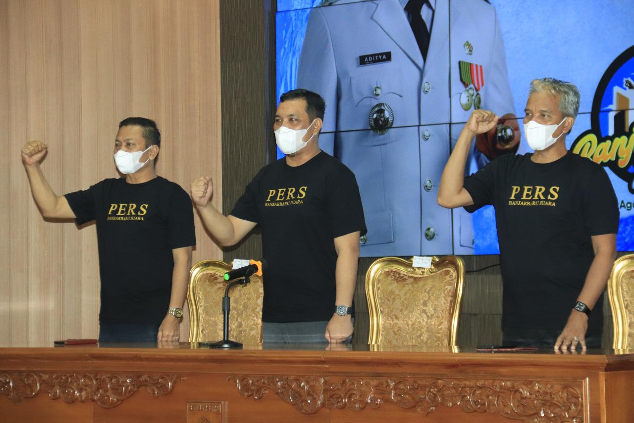 Duduk Bareng Wartawan, Walikota Sampaikan Program Strategis di Banjarbaru