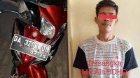 Keluar Rumah Jalan Kaki, Boho Pulang Membawa Motor Curian