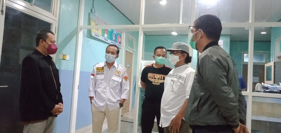 Komisi I DPRD Banjarbaru Sidak Nakes RSDI Kelelahan dan Perlu Tambahan