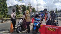 PPKM Level IV di Banjarbaru, Ada 4 Titik Penyekatan