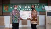 Pemkot Banjarbaru Terima Bantuan 5000 Alat Rapid Test Antigen