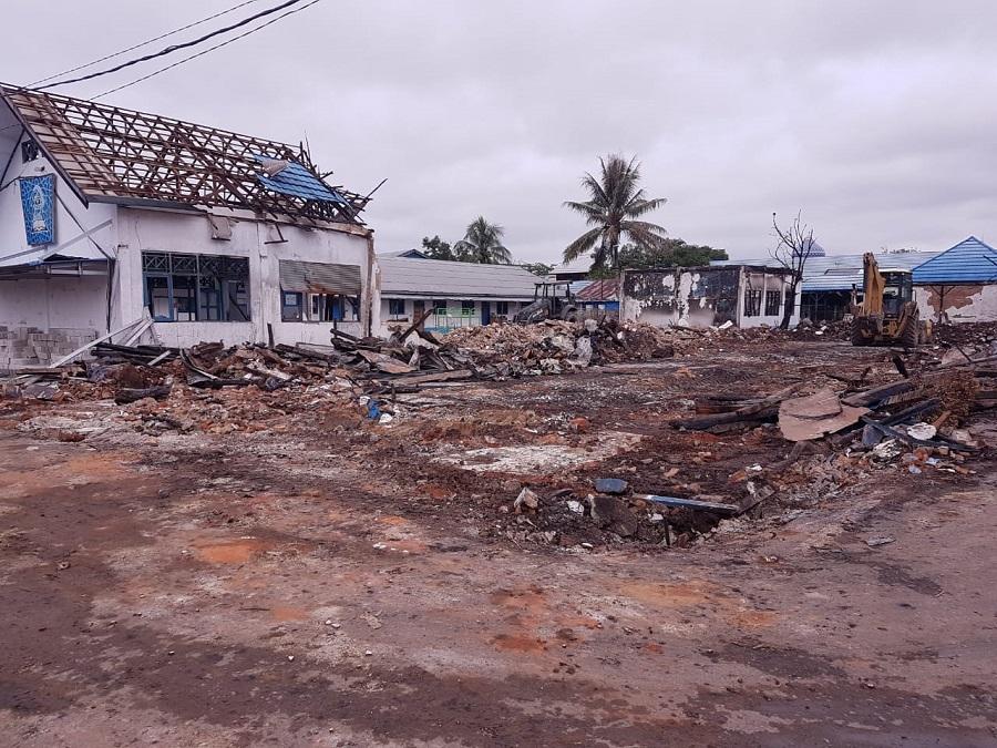 Proses Pembangunan Ponpes Al Falah Putera Banjarbaru Pasca Kebakaran, Akan Dimulai Awal Agustus