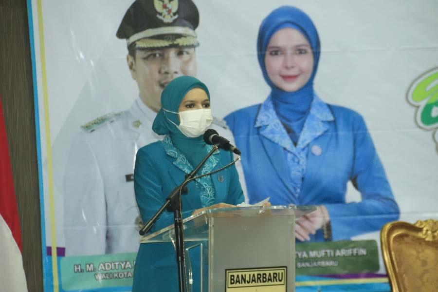 Rakerda IX TP PKK Kota Banjarbaru, Vivi Saling Bahu-membahu Wujudkan Banjarbaru Juara