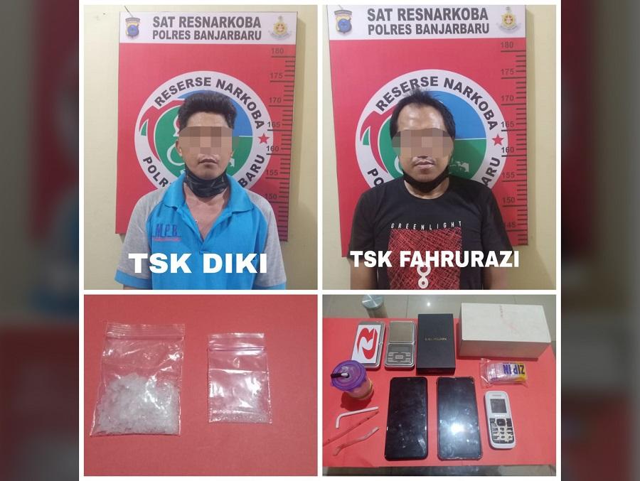 Decky Rahman dan Fahrurazi Tertangkap Tangan Menjual Sabu