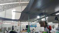 Komisi III Dapati Infrastruktur Pasar Beuntung yang Rusak, Mulai dari Lantai Hingga Atap