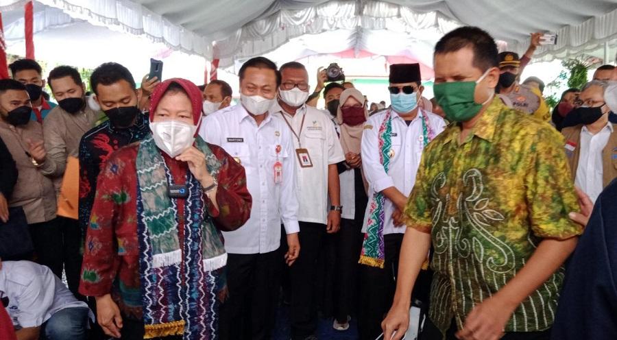 Mensos RI Beri Bantuan Penyandang Disabilitas di BRSPDM Budi Luhur Banjarbaru