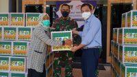 PAMA Serahkan Bantuan Sembako untuk Warga Isoman di Banjarbaru dan Martapura