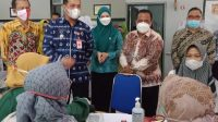 Vaksinasi Perdana Ibu Hamil dan Keluarga di Kota Banjarbaru, Ini Kata Ketua TP PKK