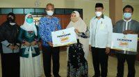 BAZNAS Kalsel Beri Bantuan untuk 10 Zmart di Banjarbaru