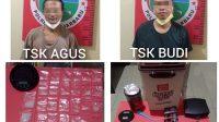 Miliki 38 Paket Sabu, Agus dan Budi Diringkus Satresnarkoba Polres Banjarbaru