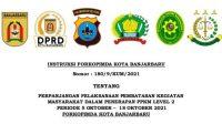 Ini Aturan PPKM Level 2 di Kota Banjarbaru