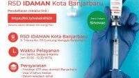 Mau Vaksin di RSDI Banjarbaru Begini Syaratnya