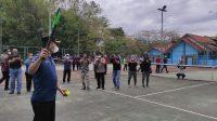Pukulan Bola Pertama dari Wartono Menandai Mulainya Turnamen Tenis Beregu Putra se-Kalsel