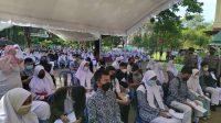 Vaksinasi Perdana Siswa SMA Sederajat di Kota Banjarbaru